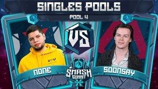 n0ne vs Soonsay - Singles Pools: Pool 4 - Smash Summit 10 | Captain Falcon vs Fox