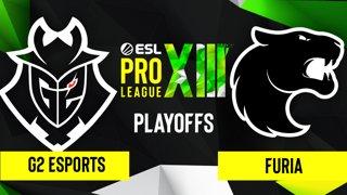 CS:GO - FURIA vs. G2 Esports [Mirage] Map 2 - ESL Pro League Season 13 - Playoffs