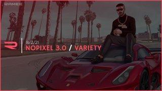 8/2/21 - Ramee/Variety/Conan - Nopixel 3.0 / Gang Beasts / Gartic Phone