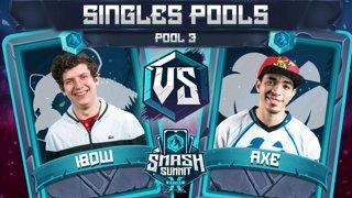 iBDW vs Axe - Singles Pools: Pool 3 - Smash Summit 10 | Fox vs Pikachu