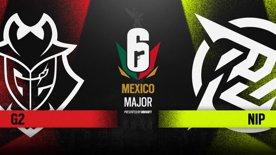 G2 Esports vs. Ninjas in Pyjamas // Six Major Mexico - group stage - day 3
