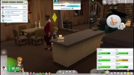 Highlight: Angel ages up her twin children Sims.