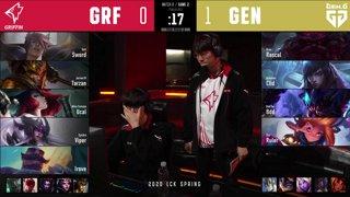 APK vs. DWG - GEN vs. GRF [2020 LCK Spring Split]
