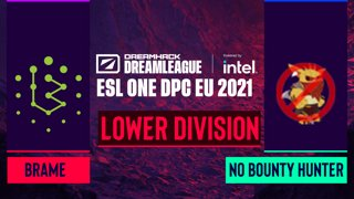 Dota2 - No Bounty Hunter vs. Brame - Game 2 - DreamLeague Season 14 DPC: EU - Lower Division