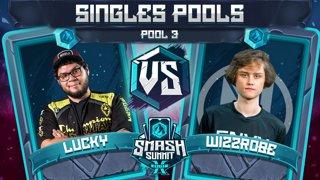 Wizzrobe vs Lucky - Singles Pools: Pool 3 - Smash Summit 10 | Captain Falcon vs Fox