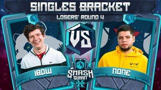 iBDW vs n0ne - Singles Bracket: Losers' Round 4 - Smash Summit 10 | Fox vs Captain Falcon