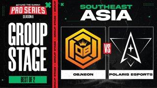 OB.Neon vs Polaris Game 1 - BTS Pro Series 8 SEA: Group Stage w/ MLP & johnxfire