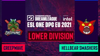 Dota2 - Hellbear Smashers vs. Creepwave - Game 2 - DreamLeague Season 14 DPC: EU - Lower Division