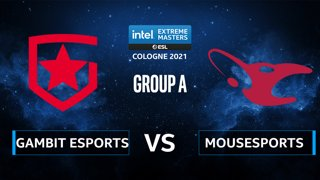 CS:GO - Gambit Esports vs mousesports [Inferno] Map 1 - IEM Cologne 2021 - Group A