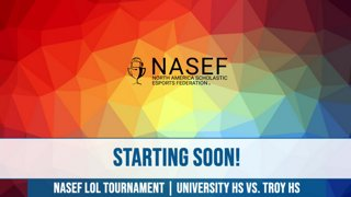 Highlight: High School Scholastic League of Legends Tournament | University HS vs. Troy HS | NASEF | !btg