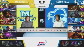 LIVE: Big East League of Legends Regular Season Week 6
