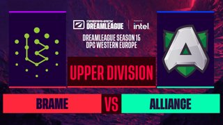 Dota2 - Brame vs. Alliance - Game 1 - DreamLeague S15 DPC WEU - Upper Division