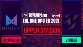 Dota2 - Team Nigma vs. Vikin.gg - Game 1 - DreamLeague Season 14 DPC: EU - Upper Division