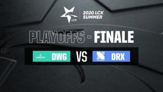 LCK Summer - Final - DWG vs DRX