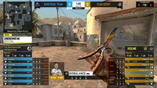 Team Spirit vs Winstrike [Map 1, Dust 2] BO3   ESL One Road to Rio
