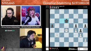 Highlight: Airthings Masters CARE Charity Stream | !charity !format