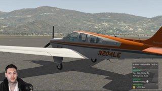 Highlight: [X-Plane 11][PilotEdge] General Aviation with PilotEdge Online ATC & Multiplayer - Carenado Beechcraft Bonanza F33A + REP