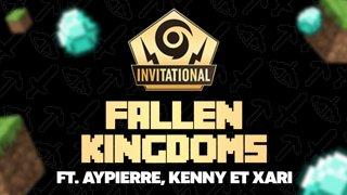 On déballe des streamer, PUIS Fallen Kingdom TOURNOI Minecraft avec Aypierre, Kenny, et Xari PUIS Satifactory avec Kenny, on continue !