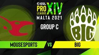 CS:GO - BIG vs. mousesports [Dust2] Map 2 - ESL Pro League Season 14 - Group C