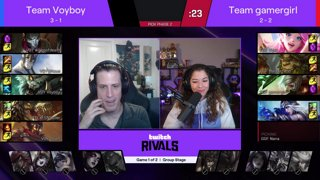 Twitch Rivals: LoL Series 1 Group Stage Week 2