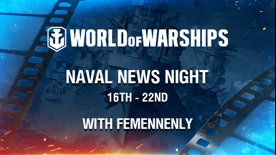 [EN] Naval News Night with Femenennly