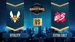 CS:GO - Extra Salt vs. Vitality [Dust2] Map 2 - DreamHack Masters Spring 2021- Group B