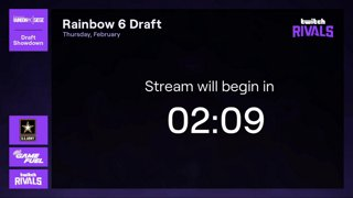 Twitch Rivals: Rainbow Six: Siege Draft Showdown - NA