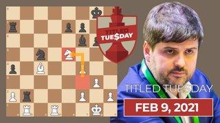 Svidler Dominates Titled Tuesday
