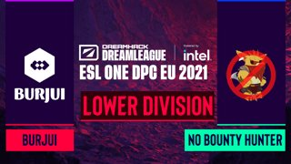 Dota2 - No Bounty Hunter vs. burjui - Game 2 - DreamLeague Season 14 DPC: EU - Lower Division