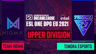 Dota2 - Team Nigma vs. Tundra Esports - Game 1 - DreamLeague Season 14 DPC: EU - Upper Division