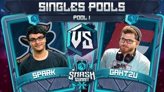 Spark vs Gahtzu - Singles Pools: Pool 1 - Smash Summit 10 | Sheik vs Captain Falcon