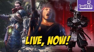 Rambo Trailer   HUNT THE MONSTER   Tsushima Multiplayer!? !nzxt !ads (10-22)