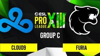 CS:GO - Cloud9 vs. FURIA [Overpass] Map 1 - ESL Pro League Season 13 - Group C