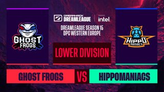 Dota2 - Hippomaniacs vs. Ghost Frogs - Game 2 - DreamLeague S15 DPC WEU - Lower Division