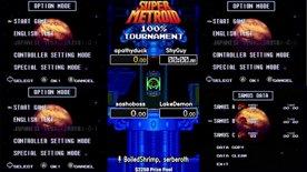 apathyduck vs ShyGuy, sashoboss vs LakeDemon. Super Metroid 100% Tournament 2020.