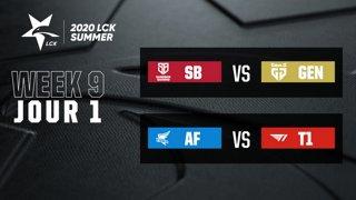 LCK  Summer 2020 - W9D1