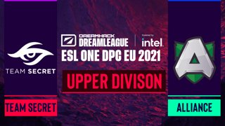 Dota2 - Alliance vs. Team Secret - Game 2 - DreamLeague Season 14 DPC: EU - Upper Division