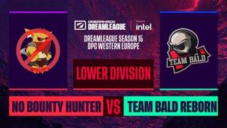 Dota2 - Team Bald Reborn vs. No Bounty Hunter - Game 2 - DreamLeague S15 DPC WEU - Lower Division