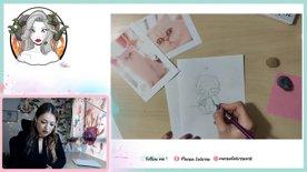 Destacado: Fan Art digital, Pin-Up para el día de la mujer