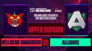 Dota2 - Alliance vs. Hellbear Smashers  - Game 1 - DreamLeague S15 DPC WEU - Upper Division