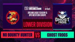 Dota2 - No Bounty Hunter vs. Ghost frogs - Game 1 - DreamLeague S15 DPC WEU - Lower Division