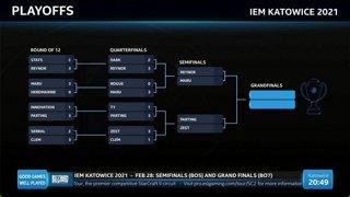 LIVE: Dark vs. Reynor (BO5) - IEM Katowice 2021 - Playoffs - RO8