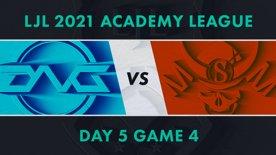 DFM.A vs SG.A LJL 2021 Academy League Day 5 Game 4