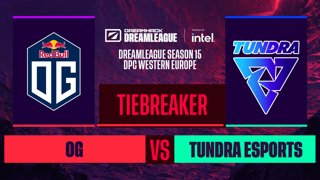 Dota2 - OG vs. Tundra Esports  - Game 1 - DreamLeague S15 DPC WEU - Tiebreaker