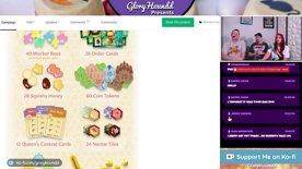Highlight: Kickstarter Board Games -  Honey Buzz, Tungaru, Titans, and Legacies!
