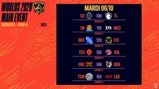 WORLDS 2020 - GROUP STAGE - JOUR 4