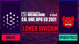 Dota2 - Spider Pigzs vs. Brame - Game 2 - DreamLeague Season 14 DPC: EU - Lower Division