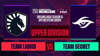 Dota2 - Team Secret vs. Team Liquid - Game 2 - DreamLeague S15 DPC WEU - Upper Division