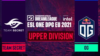 Dota2 - OG vs. Team Secret - Game 2 - DreamLeague Season 14 DPC: EU - Upper Division