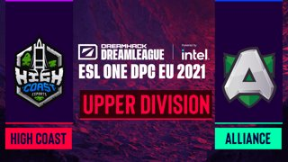 Dota2 - Alliance vs. High Coast Esports - Game 1 - DreamLeague Season 14 DPC: EU - Upper Division